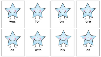 Sight word recognition game. Oh No!