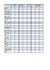 Sight word & sentence Recording Sheet