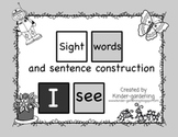 Sight word sentence construction