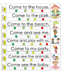 Sight word sentences pack 3