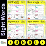 Sight words ultimate (distance learning worksheets for literacy)