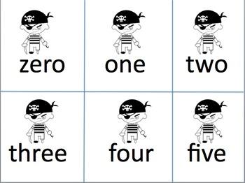 Sight words - Pirates theme