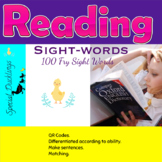 Sight words  First 100 Fry Sight Words-QR codes! Great activities