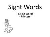 Sight words - Princess theme