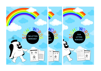 Worksheets To Reinforce Two, Three And Four Letter Sight Words