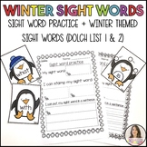 Sight words for Winter!