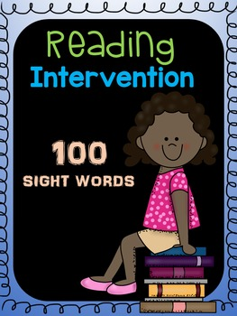 Reading Intervention (Sight Words)
