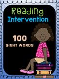 1st Grade Reading Intervention (Sight Words)