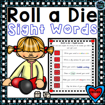Sight Word Game - Roll a Die {Freebie}