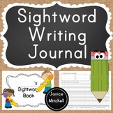 Sightword Sentence Writing Journal-Kindergarten to Grade 1