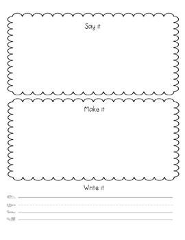Sightword Practice Mat