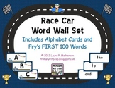 """Sightword Speedway"" Word Wall Set for Fry's FIRST 100 Words"