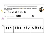 Sight Word Work