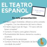 Siglo de Oro: El teatro español