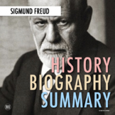 Sigmund Freud: Biography Summary Webquest (PDF & Google Drive)