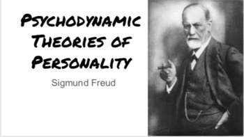 Sigmund Freud: Psychodynamic Theory of Personality