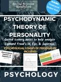 Sigmund Freud: Psychodynamic Theory of Personality
