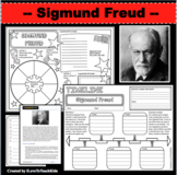 SIGMUND FREUD Research Project Timeline Poster Poem Biography Graphic Organizer