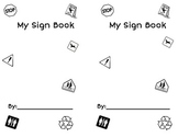 Sign Book Printable-Elementary