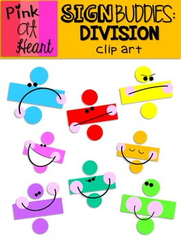 Sign Buddies Division Clip Art