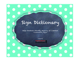 Sign Dictionary