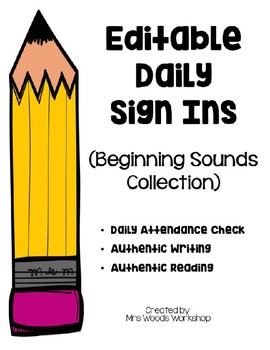 Sign In (Beginning Sound Collection)