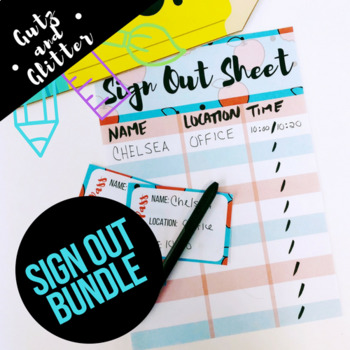 Sign-In Hall Pass Bundle