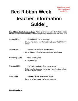 Red Ribbon Week Guideline