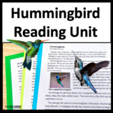 Reading Comprehension Passages and Questions on Hummingbirds