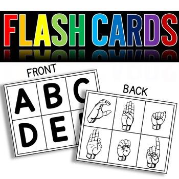 Sign Language ABC's - Print and Go!