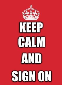 Sign Language (ASL) Poster