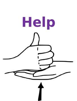 Sign Language (ASL) Posters