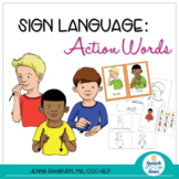 Sign Language Action Words :: ASL Activities to Teach Action Words