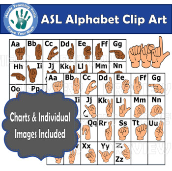ASL, Sign Language Alphabet (individual images included)