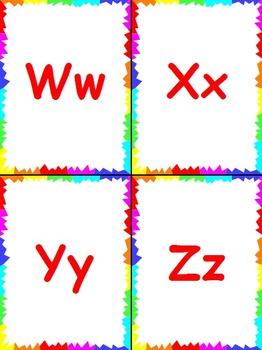 Sign Language Alphabet Flashcards