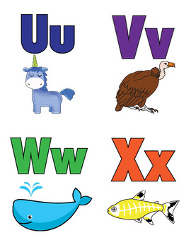 Sign Language Alphabet Flashcards and Poster