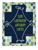 Sign Language Alphabet Letters