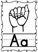 Sign Language Alphabet Posters