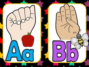 Sign Language Alphabet Posters, Practice, Games and More