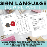 Sign Language Basic Communication Growing Bundle