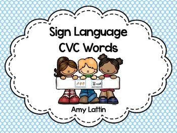 Sign Language CVC Words