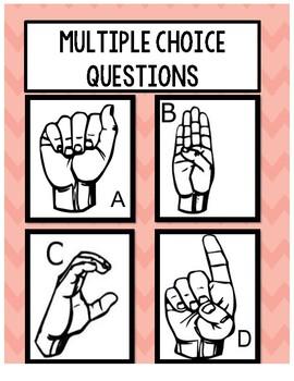 Sign Language - Classroom Managment