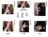 Color Sign Language (ASL) Cards