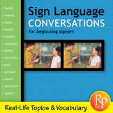 Sign Language Conversations for Beginners