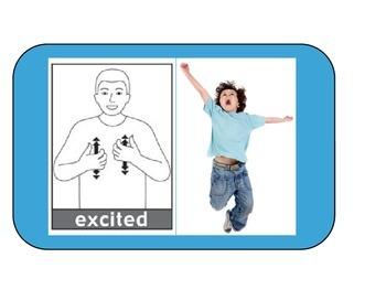 Sign Language Emotion Flash Cards