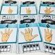 Sign Language Farmhouse Classroom Decor Numbers turquoise
