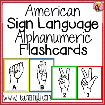 Sign Language Flashcards