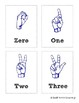 Sign Language Flashcards - ASL Counting!