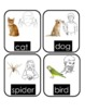 Sign Language Food and Animal Cards