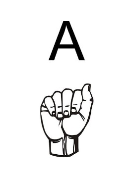 Sign Language Letters